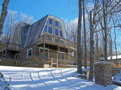 Heavenly Hideaway is our vacation rental home at Beach Mountain North Carolina